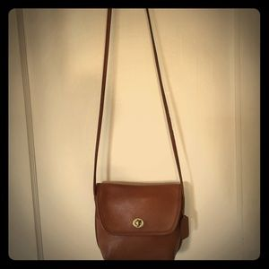 Coach Vintage Quincy crossbody bag- British Tan